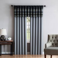 VCNY Madison 84-Inch Rod Pocket Window Curtain Panel Pair in Grey