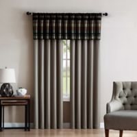 VCNY Madison 84-Inch Rod Pocket Window Curtain Panel Pair in Gold