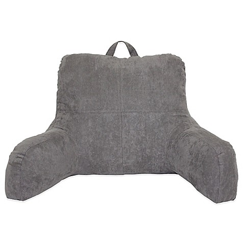 Faux Suede Backrest