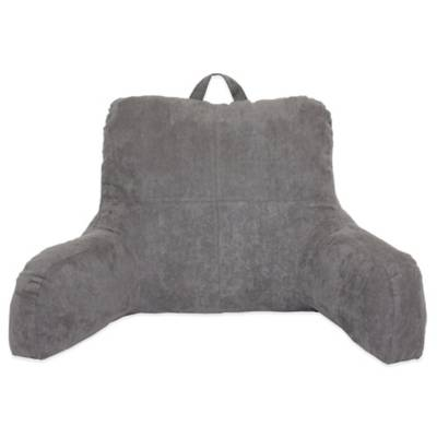 Faux Suede Backrest Bed Bath Amp Beyond