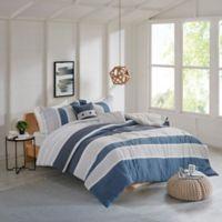 Isla Flannel 4-Piece Reversible Twin/Twin XL Comforter Set in Grey