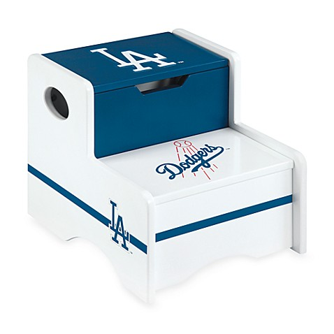 Major League Baseball Dodgers Storage Step-Up