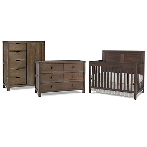 Ti Amo Castello Bedroom Furniture Collection in Weathered Brown | Tuggl