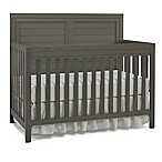 Ti Amo Castello Full Panel Convertible Crib in Weathered Grey