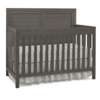 Ti Amo Castello Full Panel Convertible Crib in Brushed Grey