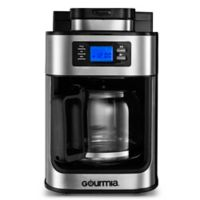Gourmia® 10-Cup Coffee Maker with Built In Grinder in Stainless Steel