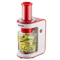 Gourmia® Electric Spiralizer/Slicer in Red