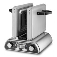 Gourmia Digital Dual Indoor Grill in Stainless Steel