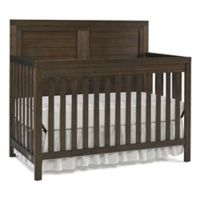 Ti Amo Castello Full Panel Convertible Crib in Wire Brushed Brown