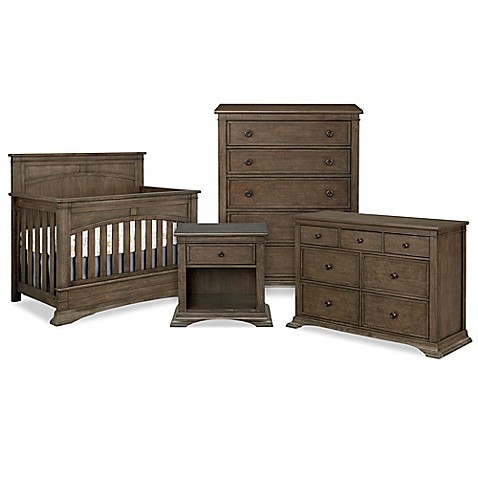 Bassettbaby Premier Emerson Furniture Collection In Heron Grey Bed Bath Beyond