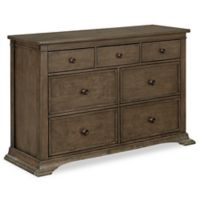 BassettBaby® Premier Emerson Double Dresser in Heron Grey