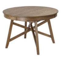 Madison Park Brennan 45-Inch Round Dining Table in Natural Oak