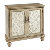 Madison Park Driscoll 2-Door Cabinet in Natural