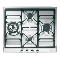 SMEG 24-Inch Classic Gas Cooktop in Stainless Steel