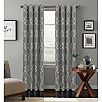 Colordrift Mandy 95-Inch Grommet Top Room-Darkening Window Curtain Panel in Platinum