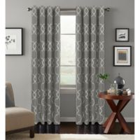 Colordrift Mandy 84-Inch Grommet Top Room-Darkening Window Curtain Panel in Platinum