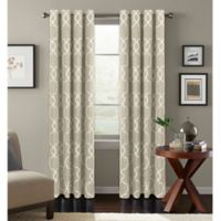 Colordrift Mandy 63-Inch Grommet Top Room-Darkening Window Curtain Panel in Natural