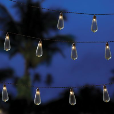 Outdoor Party Lights Buy outdoor party lighting from bed bath beyond edison indooroutdoor 10 bulb string lights in brown workwithnaturefo
