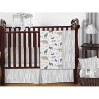 Sweet Jojo Designs Woodland Animals 11-Piece Crib Bedding Set