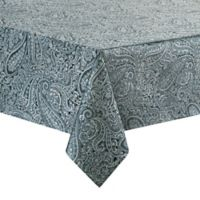 Waterford® Linens Esmeralda 70-Inch x 104-Inch Oblong Tablecloth in Indigo