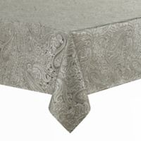 Waterford® Linens Esmeralda 70-Inch x 84-Inch Oblong Tablecloth in Taupe