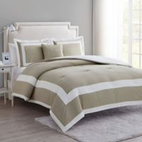 VCNY Home Avondale 4-Piece King Comforter Set in Taupe