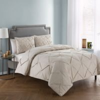 VCNY Home Julie 3-Piece King Comforter Set in Beige