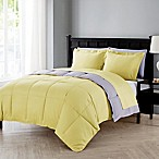 VCNY Home Lincoln 7-Piece Queen Down Alternative Comforter Set in Yellow