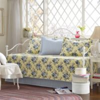 Laura Ashley® Linley Daybed Bedding Set in Light Yellow
