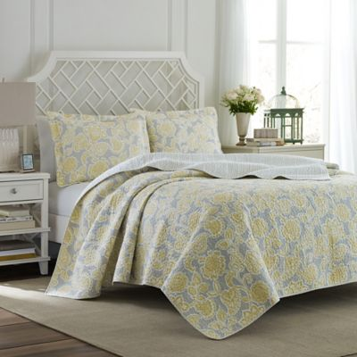 Buy Yellow King Quilt Sets from Bed Bath & Beyond : king gray quilt - Adamdwight.com