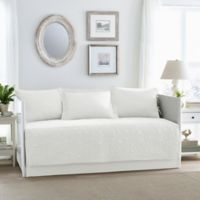 Laura Ashley® Felicity Daybed Set in White