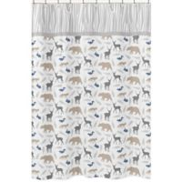 Sweet Jojo Designs Woodland Animals Shower Curtain