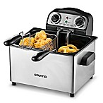Gourmia Fry Station Deep Fryer Plus 2.0 in Stainless Steel