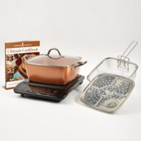 "Copper Chef™ 6-Piece Induction Cooktop with 11"" Casserole Pan"