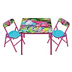 Trolls 3-Piece Activity Table and Chairs Set