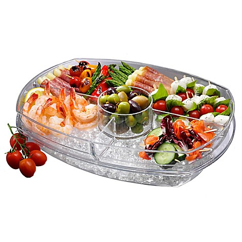 Prodyne Flip Lid Appetizers On Ice Tray Bed Bath Amp Beyond