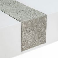 Waterford® Linens Esmeralda 72-Inch Table Runner in Taupe