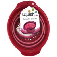 Squish™ 3-Cup Collapsible Berry Colander in Red