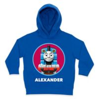 Thomas the Tank Engine Circle Size 5/6 Pullover Hoodie in Blue