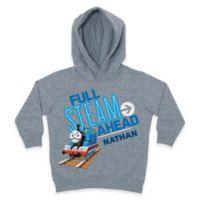 """Thomas the Tank Engine """"Full Steam Ahead"""" Size 2T Pullover Hoodie in Grey"""