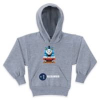 """Thomas the Tank Engine """"No. 1"""" Size 10/12 Pullover Hoodie in Grey"""