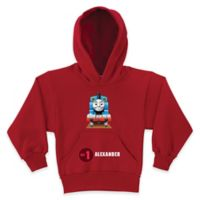 """Thomas the Tank Engine """"No. 1"""" Size 6/8 Pullover Hoodie in Red"""