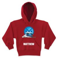 Thomas the Tank Engine Railroad Crossing Size 6/8 Pullover Hoodie in Red