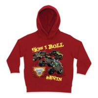Monster Jam® Size 4T Pullover Hoodie in Red