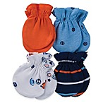 Gerber® Size 0-3M 4-Pack Sports Mittens