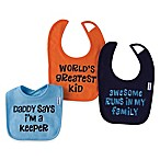 Gerber® 3-Pack Boy Sayings Bibs