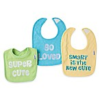 Gerber® 3-Pack Sayings Bibs