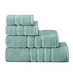 American Craft Made in the USA Bath Towel in Aqua