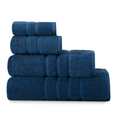 American Craft Bath Towel In Navy