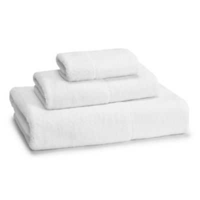 kassatex west gramercy bath towel in white - Kassatex